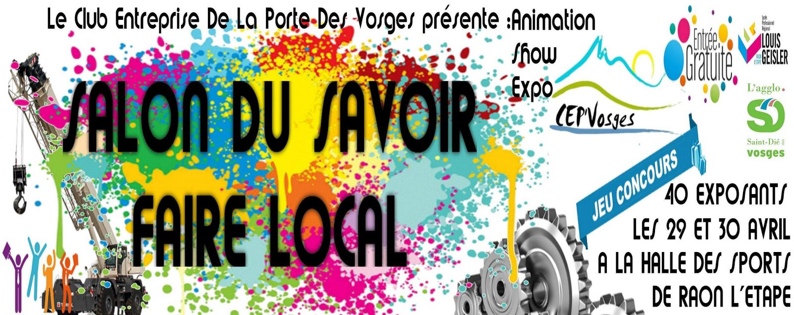 salon savoir faire local Raon L'etape