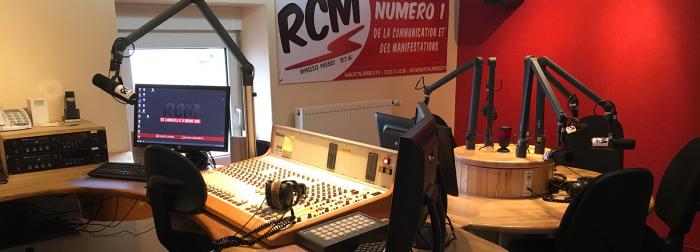 RCM - Studio de direct de Thiaville en 2016